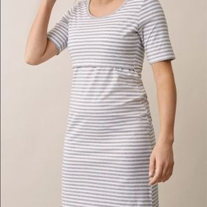 Boob design nursing maternity dress size L